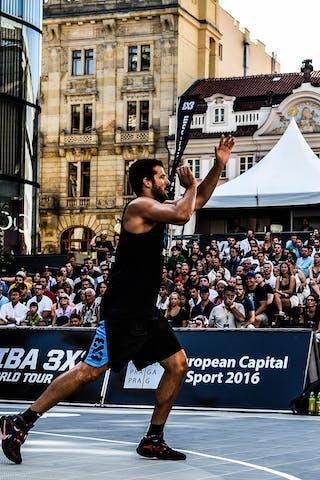 6 Dusan Domovic Bulut (UAE) - Novi Sad Al Wahda v Budapest, 2016 WT Prague, Last 8, 7 August 2016