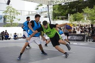 6 Wenwei Huang (CHN) - 5 Anže Srebovt (SLO)