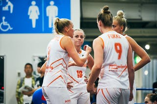 11 Jill Bettonvil (NED) - 18 Fleur Kuijt (NED) - 3 Loyce Bettonvil (NED) - 9 Esther Fokke (NED)