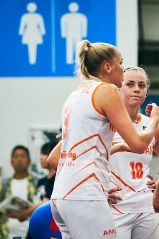 11 Jill Bettonvil (NED) - 18 Fleur Kuijt (NED) - 3 Loyce Bettonvil (NED) - 9 Esther Fokke (NED)