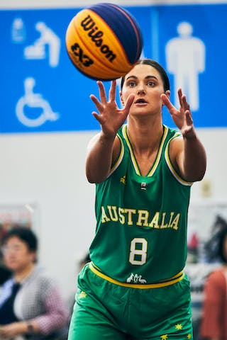 8 Alice Kunek (AUS) - Game1_Pool B_Japan vs Australia