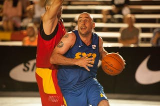 Day 1 of the 2012 FIBA 3x3 World Tour in Miami, USA. 21 September 2012.