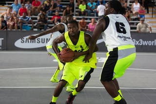 Philadelphia vs NY Staten at the San Juan Masters 10-11 August 2013 FIBA 3x3 World Tour, San Juan, Puerto Rico. Day 2
