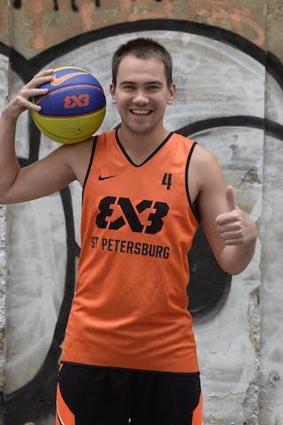 Andrei Shtarev. Team St Petersburg. 2014 World Tour Prague.
