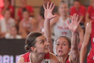 11 Aldona Morawiec (POL) - 7 Jennifer Crowder (GER)