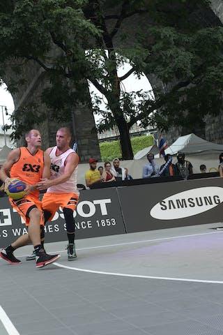 #6 Kaliterna Duje, Team Split, FIBA 3x3 World Tour Lausanne 2014, day 1, 29. August.