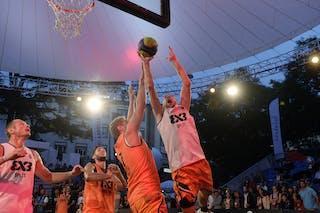 #5 Marin Hrvoje, Team Split, FIBA 3x3 World Tour Lausanne 2014, Day 1, 29. August.