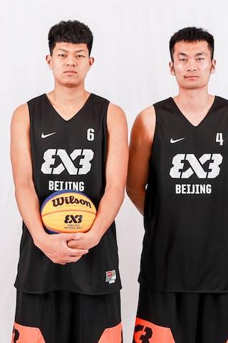 6 Haonan Li (CHN) - 5 Hengyi Liu (CHN) - 4 Yi Zheng (CHN) - 3 Peidong Chen (CHN)