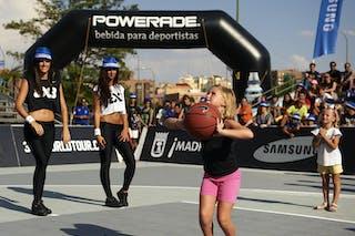 2012 FIBA 3x3 World Tour, Madrid MADRID, SPAIN - SEPTEMBER 07:  3X3 World Tour Madrid 2012 at Plaza de Toros de Las Ventas on September 07, 2012 in Madrid, Spain. (Photo by Manuel Queimadelos)