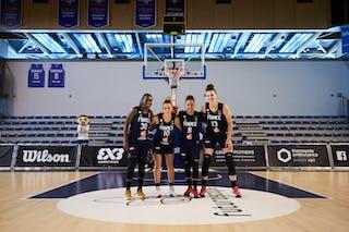 30 Victoria Majekodunmi (FRA) - 13 Sixtine Macquet (FRA) - 10 Emma Peytour (FRA) - 6 Caroline Hériaud (FRA)