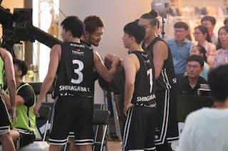2 Keishi Oikawa (JPN) - 4 Daisuke Fukuda (JPN) - 3 Shibata Masakatsu (JPN) - 1 Chihiro Sawagashira (JPN)