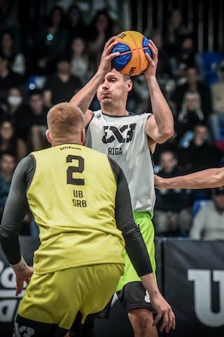 2 Miroslav Pašajlić (SRB) - 3 Karlis Lasmanis (LAT)