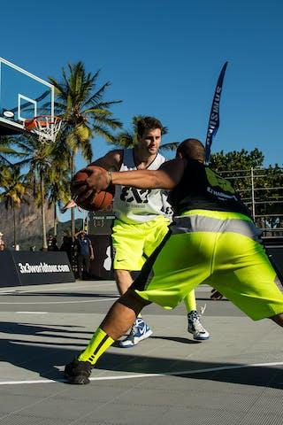 #6 RJ Madureira (Brazil) SP Sorriso (Brazil) 2013 FIBA 3x3 World Tour Rio de Janeiro
