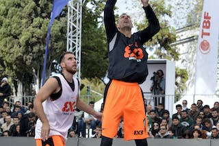 #6 Brezovica (Slovenia) Final Game Brezovica vs Novi Sad at the 2013 FIBA 3x3 World Tour final in Istanbul