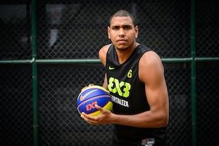 #6 Camilo Erick, Team Fortaleza, FIBA 3x3 World Tour Rio de Janeiro 2014, 27-28 September.