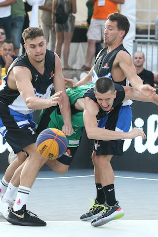 Quarter Final, Lausanne - Vrbas.