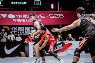 3 Zhang Jingli (CHN) - 6 Nolan Brudehl (CAN) - 3 Michael Linklater (CAN)