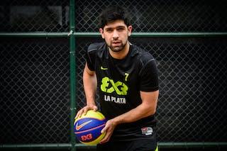 #7 Di Biase Emiliano, Team La Plata, FIBA 3x3 World Tour Rio de Janeiro 2014, 27-28 September.