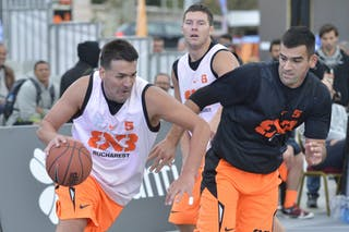 #5 Bucharest (Romania) Kranj (Slovenia) 2013 FIBA 3x3 World Tour final in Istanbul