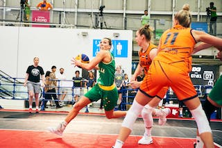 9 Esther Fokke (NED) - 5 Maddie Garrick (AUS) - Game5_Final_Netherlands vs Australia