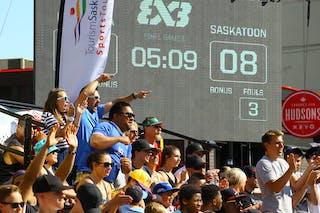 Ljublijana vs Saskatoon in the FIBA 3x3 World Tour Saskatoon 2017 final