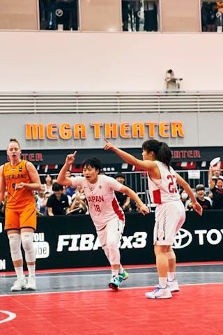 23 Mai Yamamoto (JPN) - 18 Sayako Ozaki (JPN) - Game3_Japan U23 vs Netherlands