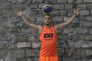 #5 Boskovic Nebojsa, Team Belgrade, FIBA 3x3 World Tour Lausanne 2014, 29-30 August.