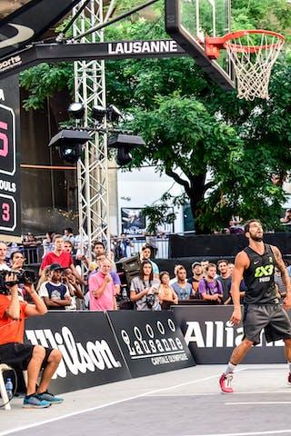 5 Aleksandar Ratkov (SRB) - 3 Stefan Stojačić (SRB) - 2 Gionata Zampolli (ITA) - 6 Claudio Negri (ITA) - Liman v Pavia, 2016 WT Lausanne, Last 8, 27 August 2016