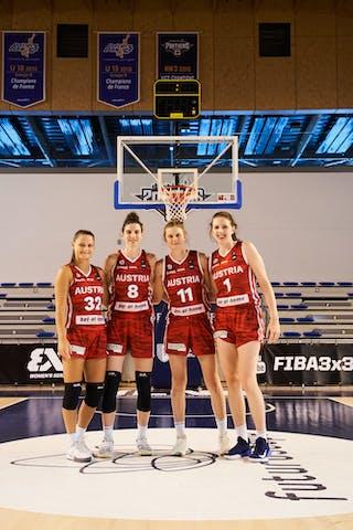 32 Rebekka Kalaydjiev (AUT) - 11 Camilla Neumann (AUT) - 8 Anja Fuchs-robetin (AUT) - 1 Sarah Sagerer (AUT)
