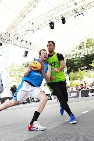 5 Marko Dugosija (SRB) - 6 Thomas Garlepp (AUS) - Pool 1 C 1: Zemun vs. Melbourne i-Athletic
