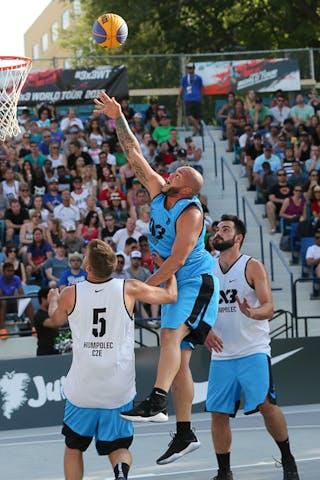 6 Roman Zachrla (CZE) - Humpolec vs Gurabo FIBA 3x3 Saskatoon 2017 (Can)