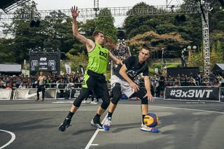 3 Joey King (USA) - 4 Robbie Hummel (USA)