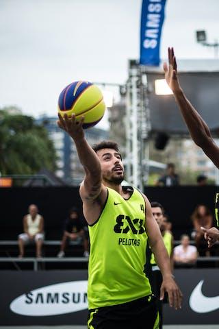 #4 Ventura Felipe, Team Pelotas, FIBA 3x3 World Tour Rio de Janeiro 2014, 27-28 September.