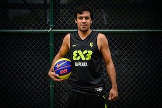 #4 Ibanez Mariano, Team La Plata, FIBA 3x3 World Tour Rio de Janeiro 2014, 27-28 September.