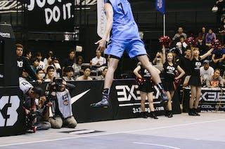 #7 Iwashita Tatsuro, Team Kobe, dunk contest, FIBA 3x3 World Tour Final Tokyo 2014, 11-12 October.