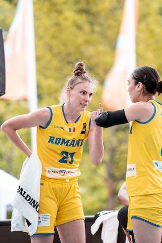 6 Sonia Ursu (ROU) - 12 Elisabeth Pavel (ROU) - 21 Anca Sipos (ROU)