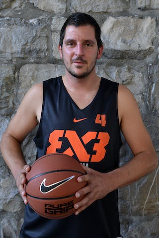 #4 Krank (Slovenia) 2013 FIBA 3x3 World Tour Masters in Lausanne