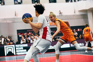 11 Jill Bettonvil (NED) - 18 Sayako Ozaki (JPN) - Game3_Japan U23 vs Netherlands