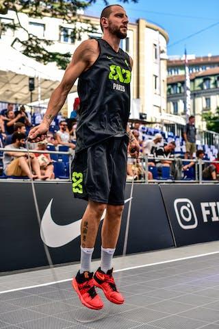 6 Maxime Courby (FRA) - Saskatoon v Paris, 2016 WT Lausanne, Pool, 26 August 2016