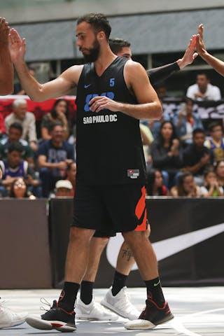 4 Julius Edwin Henriquez (MEX) - 6 Edgar Gonzalez De Salceda Medina (MEX) - 5 Felipe Camargo (BRA)