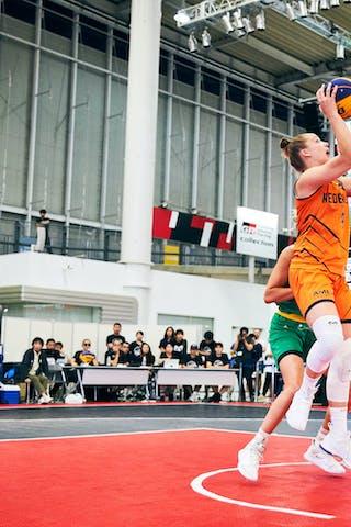 9 Esther Fokke (NED) - Game5_Final_Netherlands vs Australia