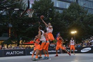 Vilnius (Lithuania) Bucharest (Roumania) 2013 FIBA 3x3 World Tour Masters in Prague