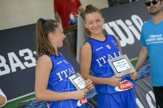 15 Clara Rosini (ITA) - 5 Giulia Ianezic (ITA)