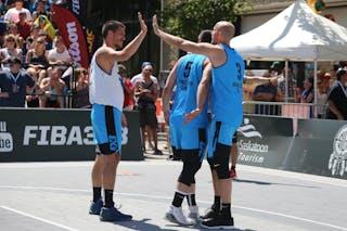 5 Vadim Halimov (CAN) - 3 Sean Van Koughnett (CAN) - 7 Mihailo Vasic (SRB)