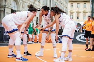 9 Giulia Ciavarella (ITA) - 8 Giulia Rulli (ITA) - 5 Marcella Filippi (ITA) - 2 Raelin Marie D'alie (ITA)