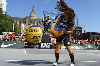 Images outside the FIBA 3x3 World Tour Saskatoon 2017 venue