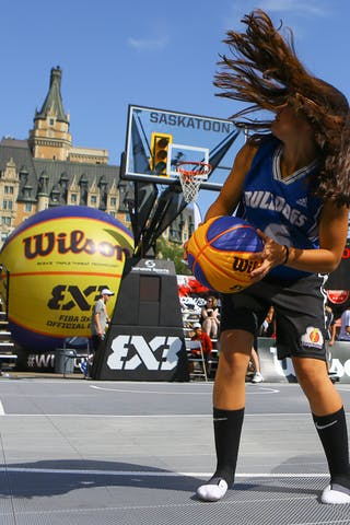 Images outside the FIBA 3x3 World Tour Saskatoon 2017 venue