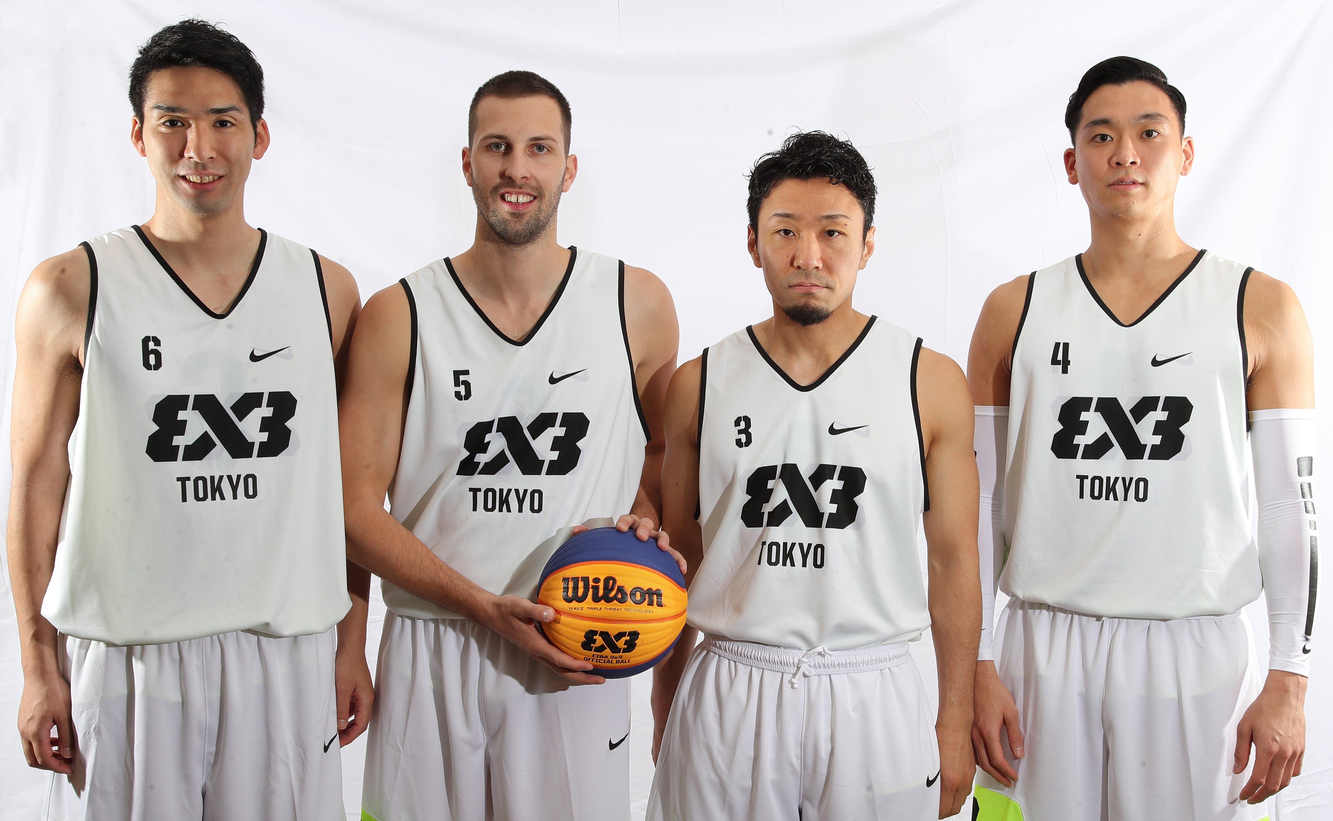 6 Masahiro Komatsu (JPN) - 3 Keita Suzuki (JPN) - 5 Petar Perunovic (JPN) - 4 Tomoya Ochiai (JPN)
