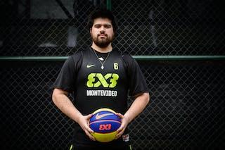 #6 Correa Maximiliano, Team Montevideo, FIBA 3x3 World Tour Rio de Janeiro 2014, 27-28 September.