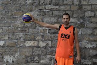 #5 Marin Hrvoje, Team Split, FIBA 3x3 World Tour Lausanne 2014, 29-30 August.